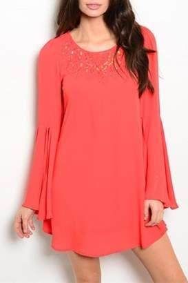 Ooh! La Ooh La La Boutique Coral Dress