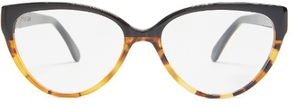 Prism Cannes cat-eye acetate glasses