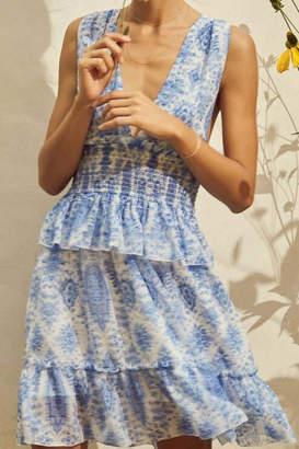 Saylor Holly Blue Dress