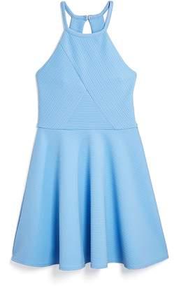 Sally Miller Girls' Textured Emily Dress - Big Kid