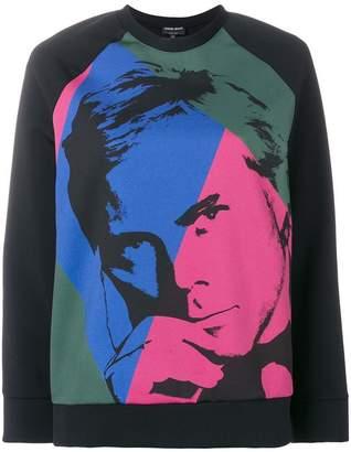 Giorgio Armani (ジョルジョ アルマーニ) - Giorgio Armani printed sweatshirt