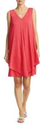 Fabiana Filippi Silk Tiered Dress