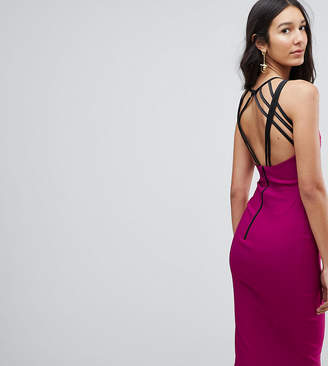 Vesper Tall Strappy Back Midi Dress