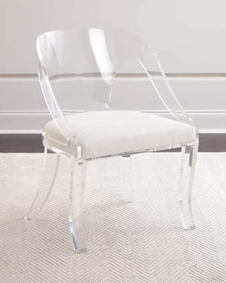Delilah Round Back Acrylic Chair