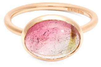 Irene Neuwirth 18kt Gold And Tourmaline Ring - Womens - Rose Gold