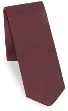 Burberry Stanfield Mottoman Silk Tie