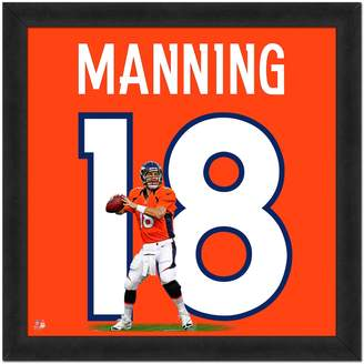 Kohl's Denver Broncos Peyton Manning Framed Jersey Photo
