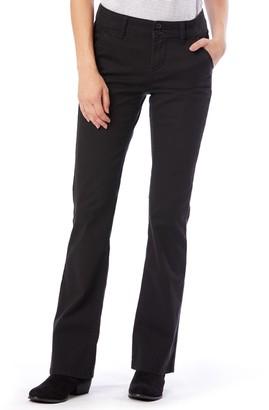 UNIONBAY Juniors' Hayden Twill Bootcut Pants