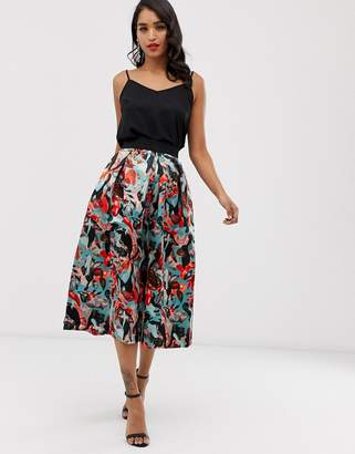 Closet London Closet pleated midi skirt