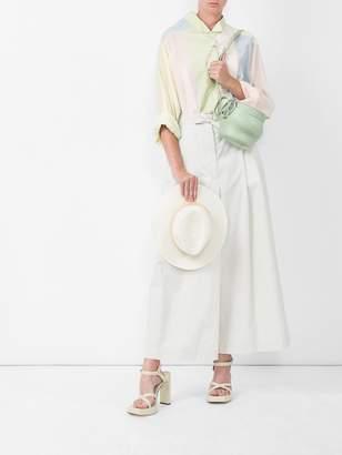 Loewe Pastel asymmetric oversized shirt