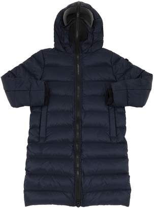 AI Riders On The Storm Water Resistant Nylon Down Coat