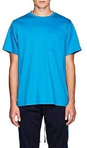 FiveSeventyFive Men's Oversized Cotton T-Shirt - Blue