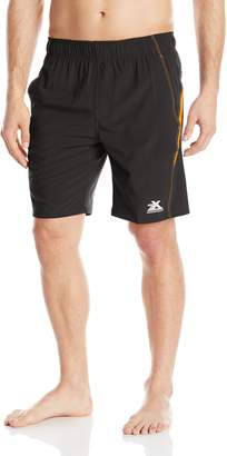 ZeroXposur Men's Zeus Solid Color Block Swim Short