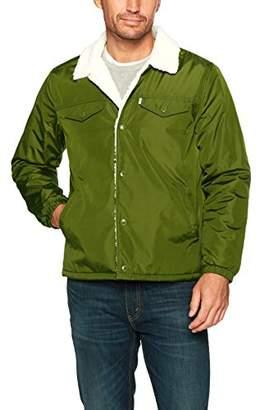 Levi's Men's Sherpa Coach Trucker Jacket