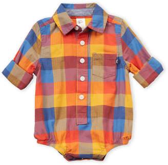 Osh Kosh B'gosh (Infant Boys) Plaid Bodysuit