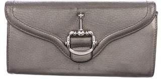 Gucci Horsebit Continental Wallet
