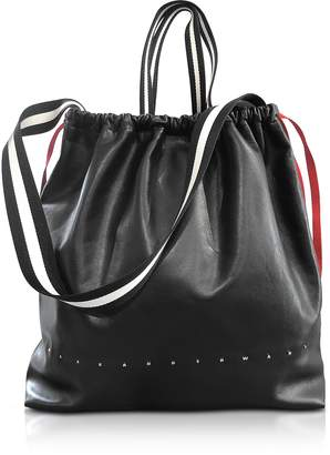 Alexander Wang Black Ransack Drawstring Bag