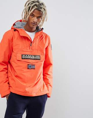 Napapijri Rainforest winter 1 jacket in bright orange