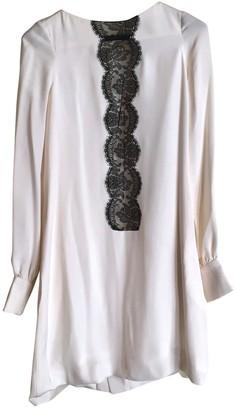 Azzaro White Silk Dress for Women