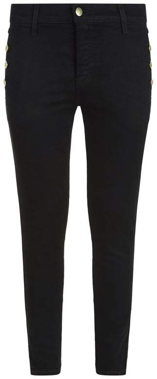 Zion Mid Rise Skinny Jeans