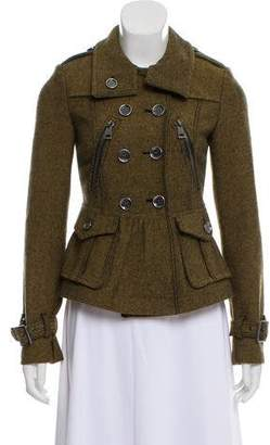 Burberry Double-Breasted Flared Jacket