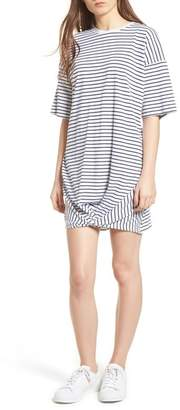 The Fifth Label Recharge Knot Hem T-Shirt Dress