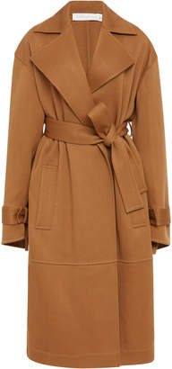 Victoria Beckham Wool-Crepe Trench Coat
