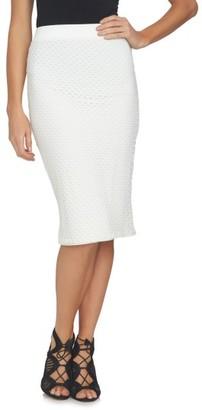 Women's 1.state Mesh Midi Skirt $69 thestylecure.com