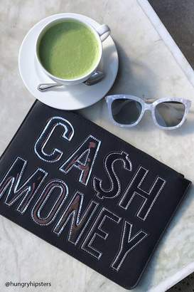Forever 21 Cash Money Graphic Clutch