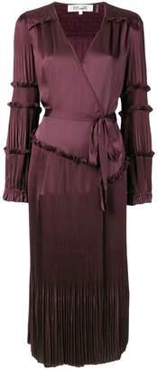 Diane von Furstenberg purple Keira dress
