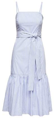Banana Republic Stripe Super-Stretch Midi Dress with Removable Straps