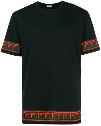 Versace contrast-trim T-shirt