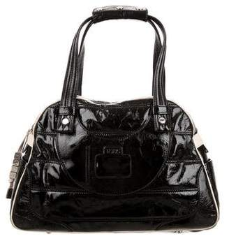 Tod's Patent Leather Top Handle Bag