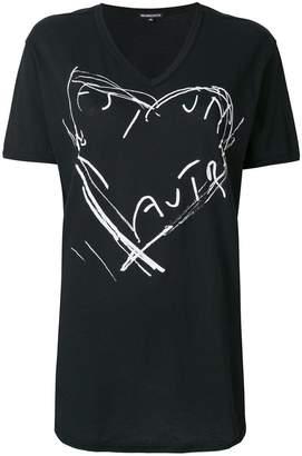 Ann Demeulemeester print short-sleeve T-shirt