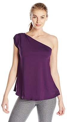 Danskin Women's One Shoulder Top