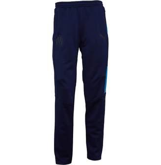 Mens Olympique Marseille Training Track Pants Peacoat/Bleu Azur