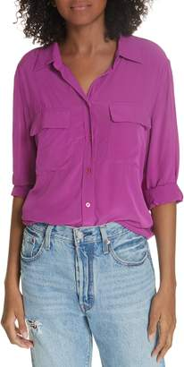 Equipment Slim Signature Silk Blouse