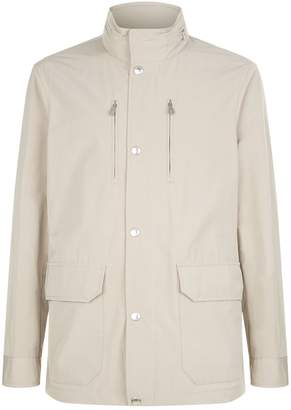 Brunello Cucinelli Removable Hooded Mac