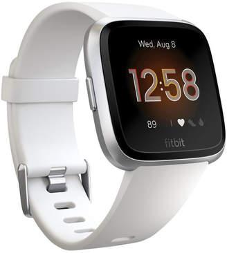 Fitbit Versa Lite Smartwatch - White/Silver