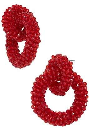 BaubleBar Emina Hoop Earrings