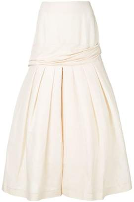 Jacquemus midi full skirt