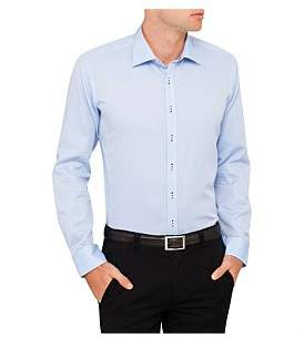 Geoffrey Beene Hill Honeycomb Body Fit Shirt