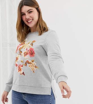 Junarose floral sweatshirt