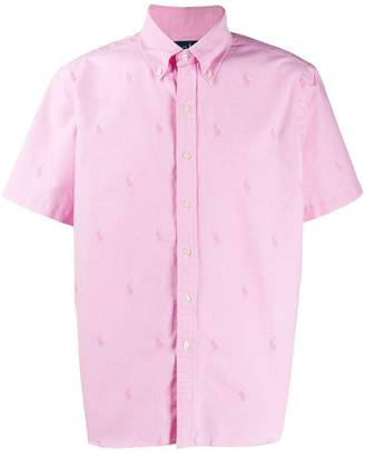 Polo Ralph Lauren logo jacquard shirt