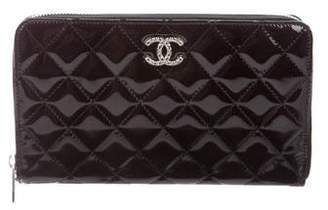 Chanel Large Patent Brilliant Wallet