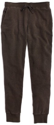 Women's Madewell Charlton Terry Sweatpants $65 thestylecure.com