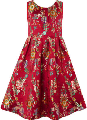 Monsoon Folk Jacquard Dress