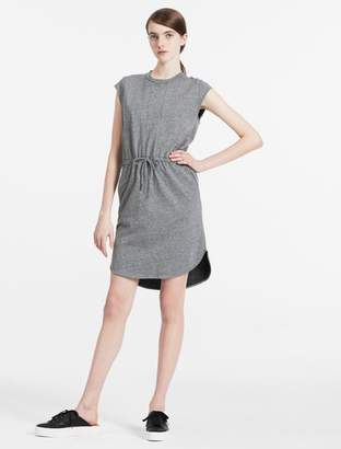Calvin Klein cotton french terry jersey dress