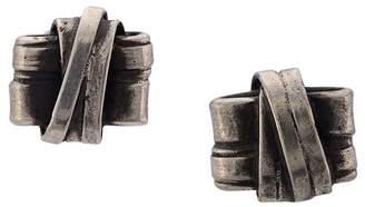 Werkstatt:Munchen knot stud earrings