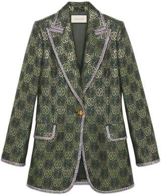 Gucci GG Art Deco floral jacket